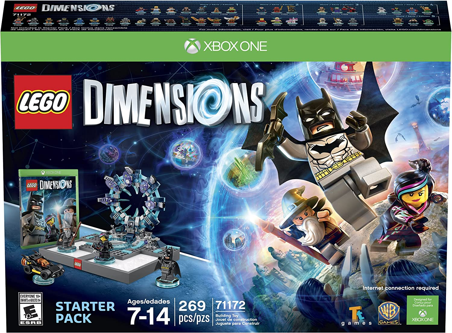 Amazon com: LEGO Dimensions Starter Pack - Xbox One: Whv