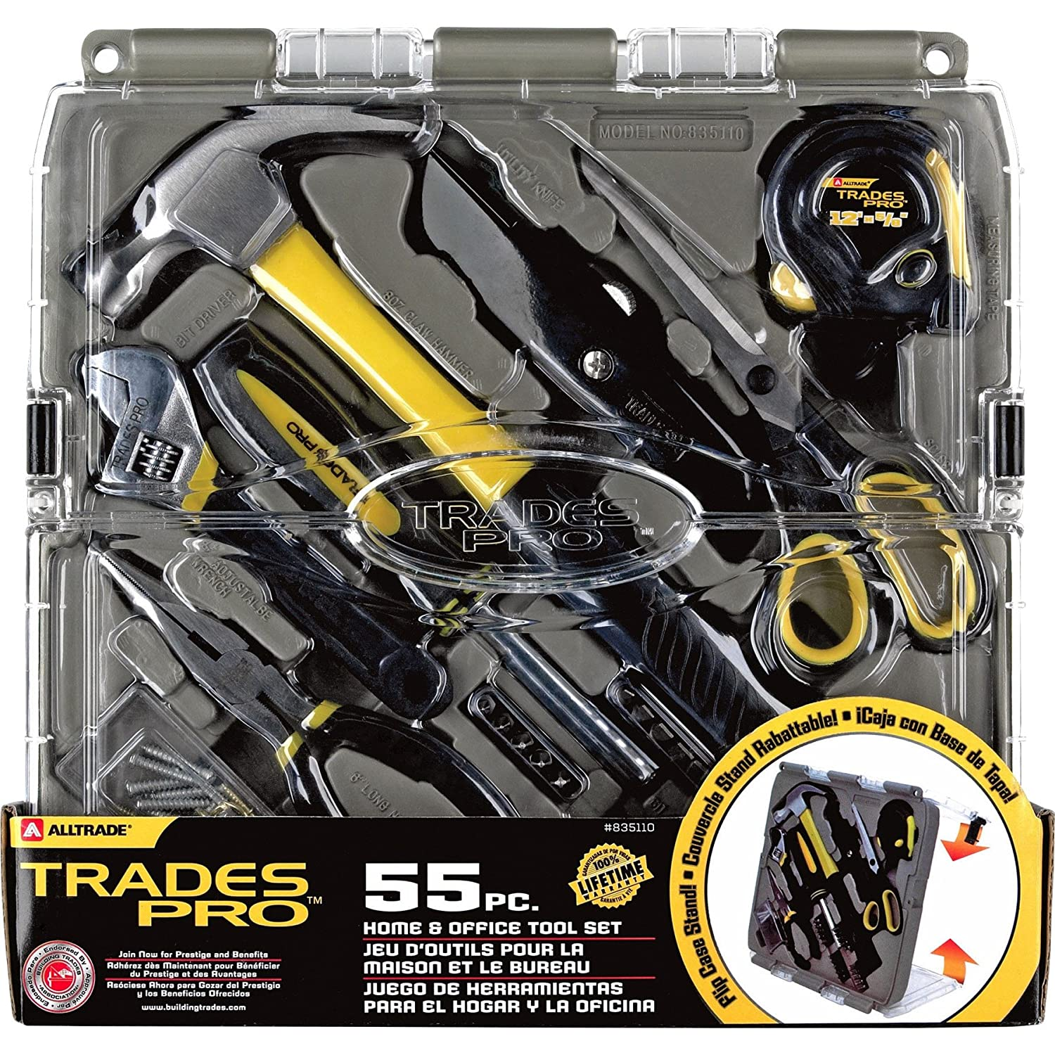 Tradespro 835110 Home And Office Tool Set, 55-Piece - Hand Tool Sets - Amazon.com