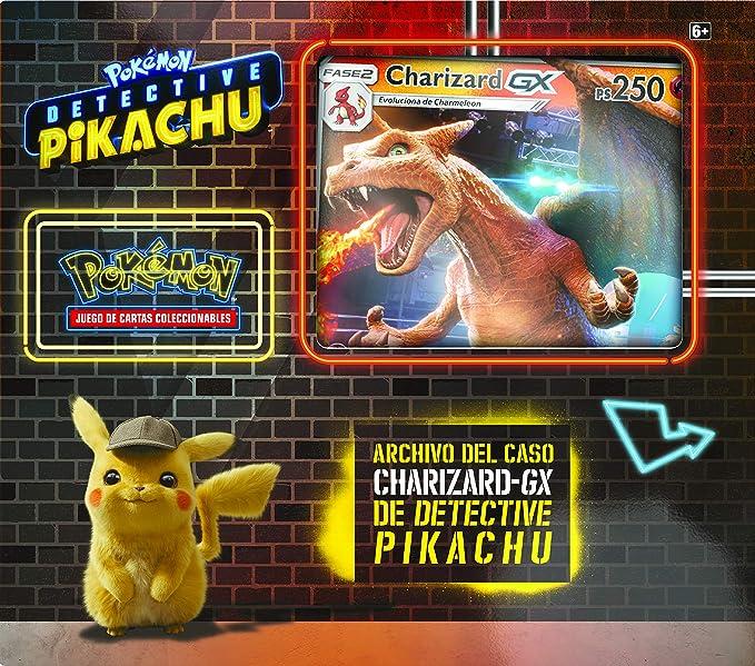 Pokemon JCC - Archivo del caso Charizard-GX de Detective Pikachu (Asmodee, POGX1906)