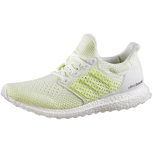 adidas Ultraboost Clima, Scarpe Running Uomo, Bianco Ftwwht/Solred, 39 1/