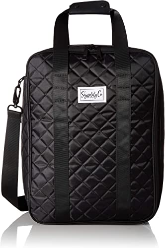 Simplily Co. Carry-on Under the Seat Shoulder Suitcase Luggage Bag Black