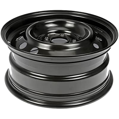 "Dorman Steel Wheel with Black Painted Finish (16x7""/5x4.5""): Automotive"