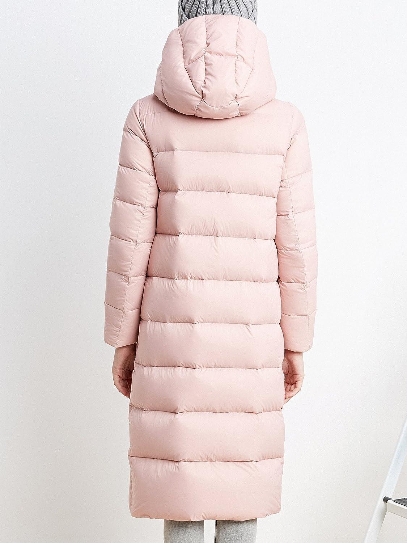 Bosideng Manteau Matelassé En Forme De Losange - Confortable Et Protecteur, Parfait Pour Les Jours Froids Bébé Rose