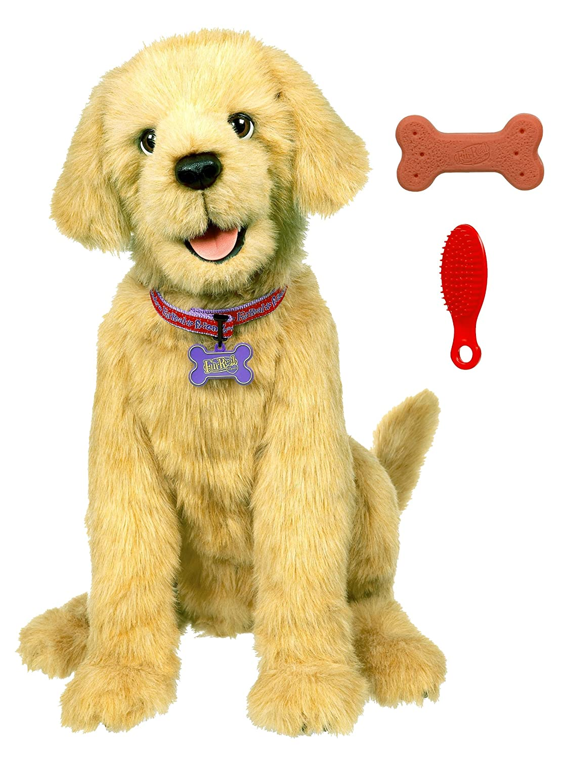Amazon.com: Fur Real Friends Biscuit My Lovin Pup: Toys & Games