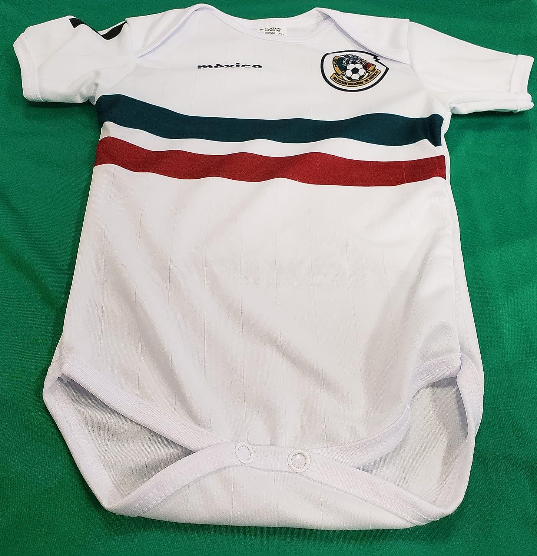 新しい。メキシコ国立チームベビー乳児Jersey Russia 2018サイズM ( 5 – 10ヶ月 B07CKGBSPY