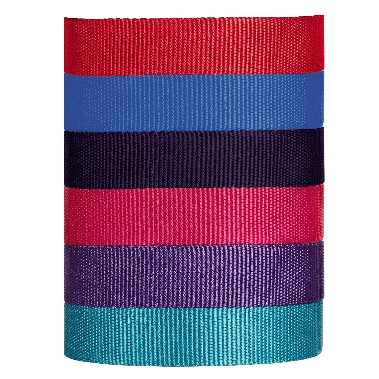 3//4-Inch Red Guardian Gear Martingale Dog Collar Medium