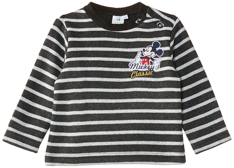 Disney Baby Boys Mickey Mouse NH0061 Sweatshirt Black