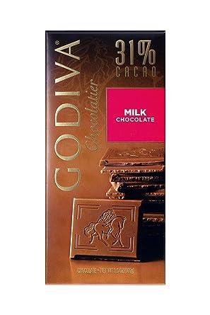 Godiva, Tableta Chocolate con Leche, 100g