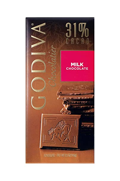 Godiva, Tableta Chocolate con Leche, 100g
