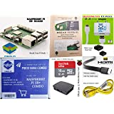 Raspberry Pi 3B+/3B Plus Motherboard Combo - PiBOX India Variation (PiBOX - Essential Combo Black 3215BK)