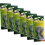 Scrub-It Aluminum Mesh 12 Lint Traps with 12 Long Lasting Ties for Washing Machines