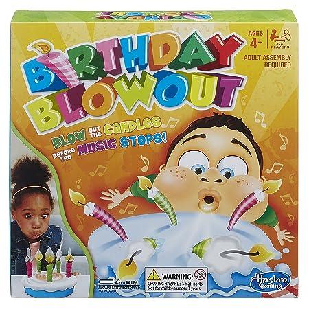 Hasbro Gaming Birthday Blowout Board Games at amazon