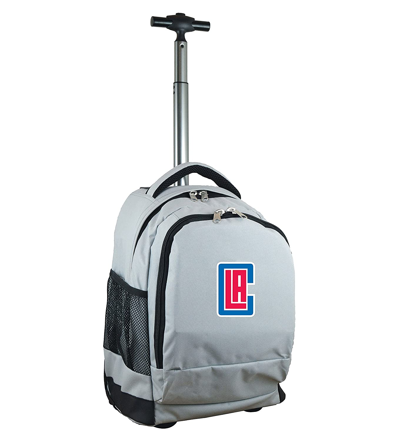 NBA Los Angeles Clippers Expedition Wheeled Backpack, 48cm , Grey   B01MREEWZO
