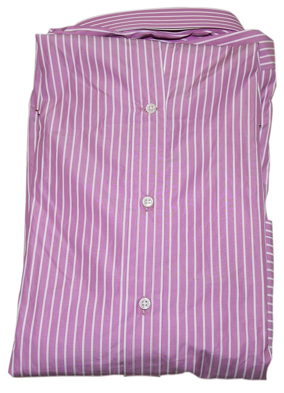 Ralph Lauren Polo Purple Label Mens Button Dress Shirt Italy Striped