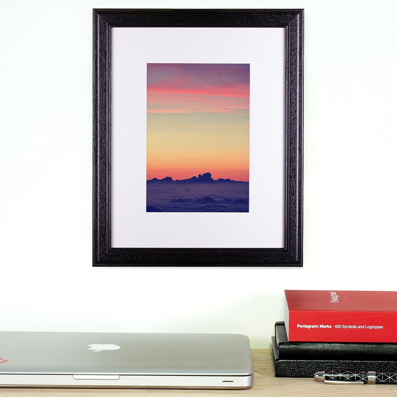 Amazon.com: Craig Frames Wiltshire 236 Simple Hardwood Picture Frame ...