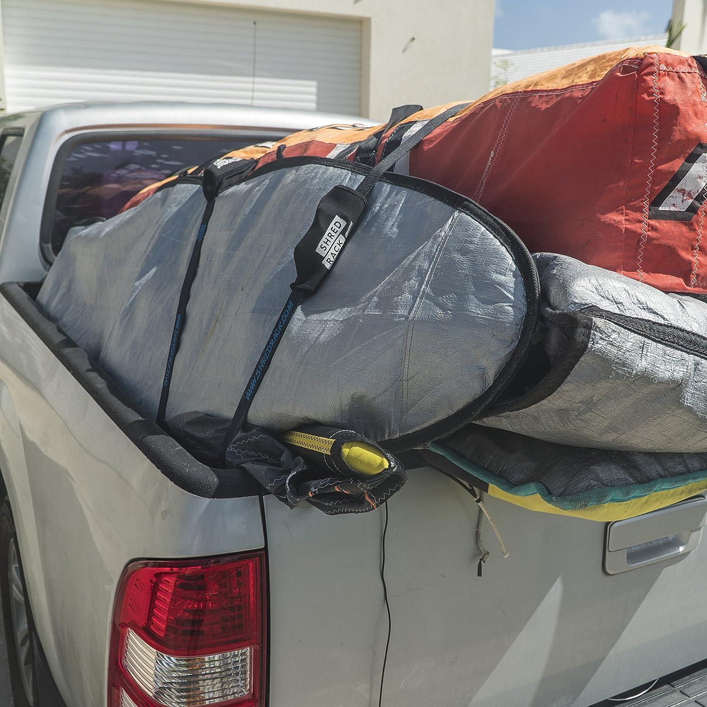 2er Pack Blue PA//TPU SHRED RACK Tension Belt Waterproof Coated 2m