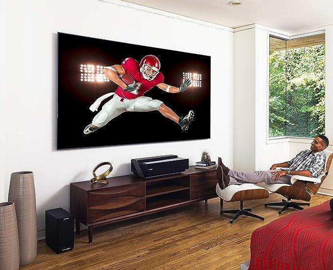amazon com hisense 100 inch 4k ultra hd smart laser tv 2018 100l8d electronics hisense 100 inch 4k ultra hd smart laser tv 2018 100l8d