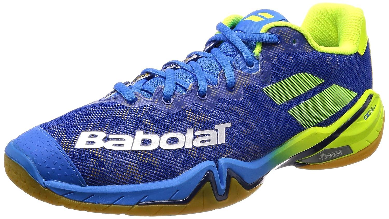 Babolat Chaussures de Badminton Hommes Shadow Tour 2018 30s1801 175 Jaune/Bleu