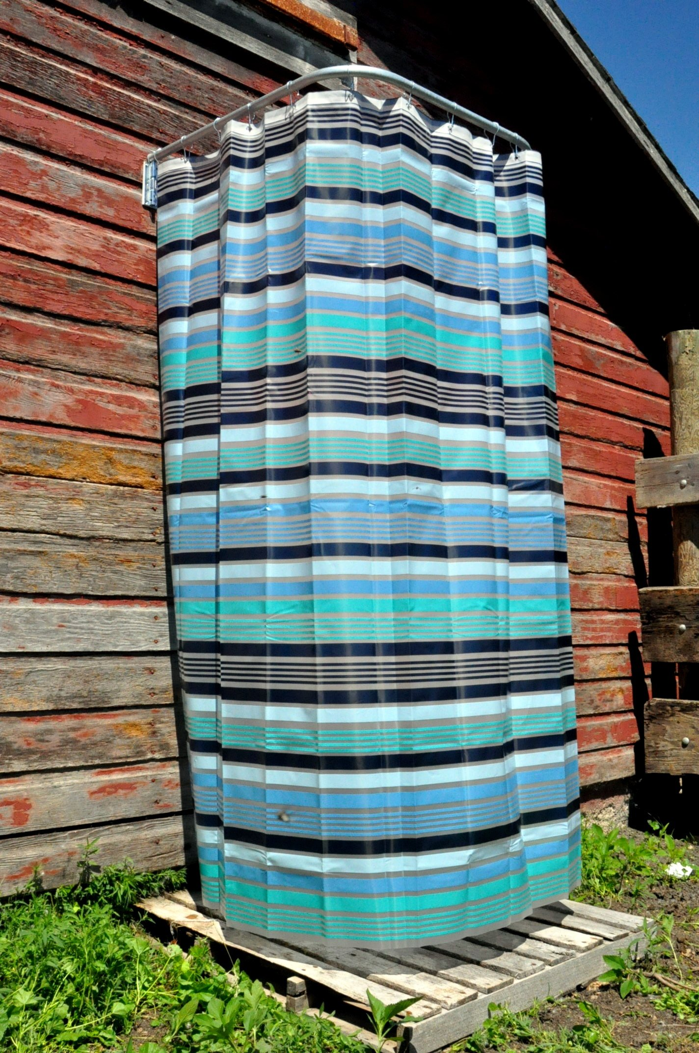 Aberdeen Parts Store 32'' Indoor Outdoor Removable Shower Curtain Rod - Heavy Duty by Aberdeen Parts Store (Image #2)