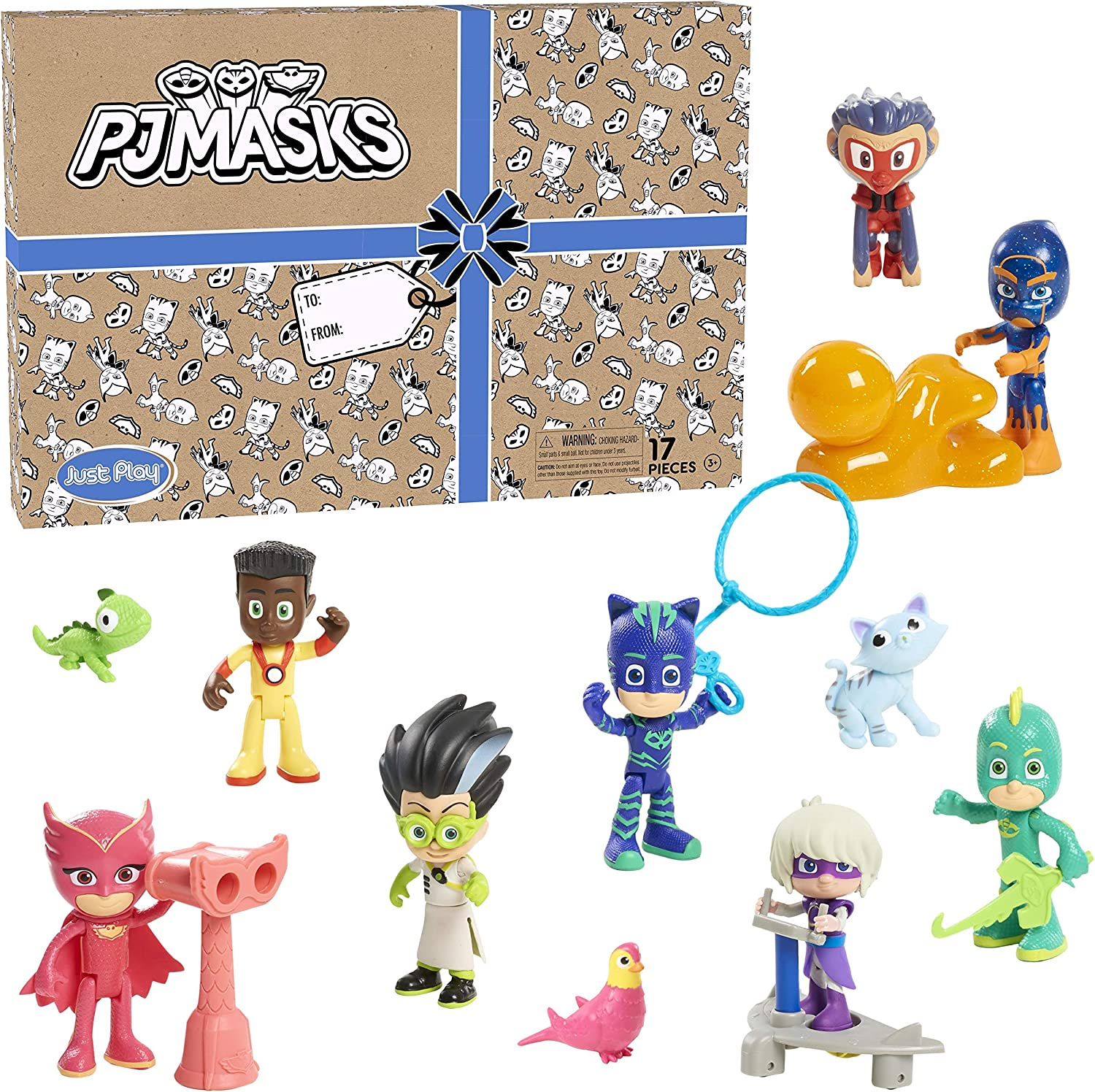 PJ Masks Deluxe Figure Set