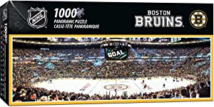 NHL Boston Bruins Arena Puzzle (1000-Piece), Small, Gray