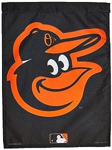 """WinCraft MLB Baltimore Orioles WCR66556012 Garden Flag, 11"""" x 15"""""""