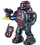 Ferngesteuerter Roboter - Feuert Scheiben, tanzt, spricht - Super unterhaltsamer RC Roboter - RoboShooter