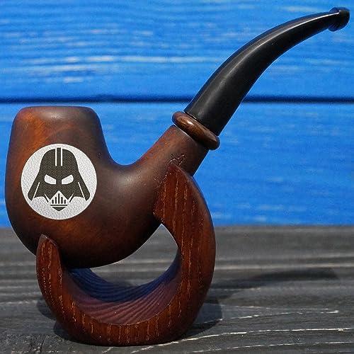 Star Wars Smoking Pipe, Personalized Darth Vader Wooden Smoking Pipe,  Personalized Wooden Smoking Pipe, Custom Engraved Smoking Pipe, SP04