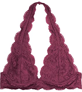 GP Modo Gorgeous Halter Neck Lace Bralette Bra (Medium Large