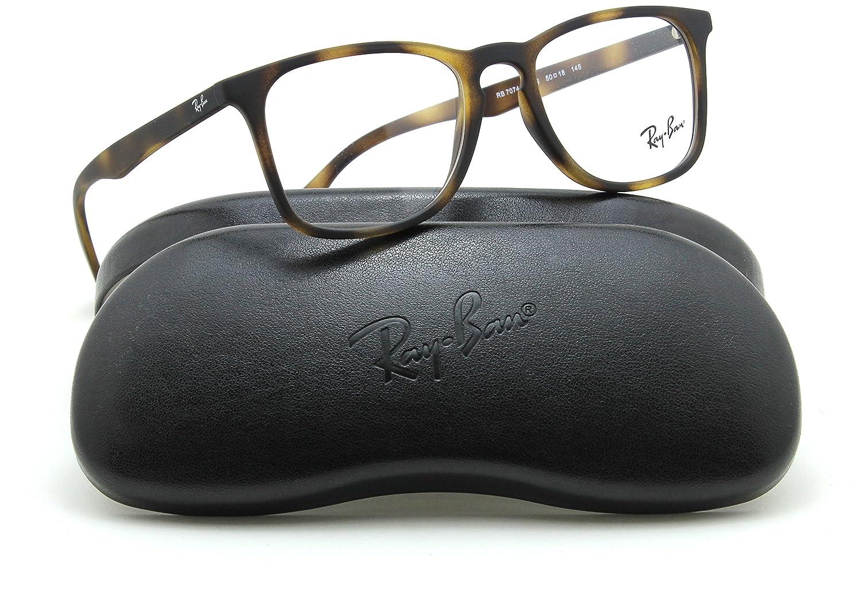 Ray-Ban RX7074 Square Unisex Prescription Eyeglasses 5365 - 50mm