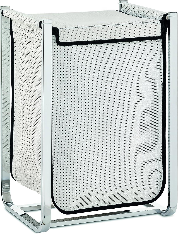 Kela Laundry Bin Lorin Collection, White