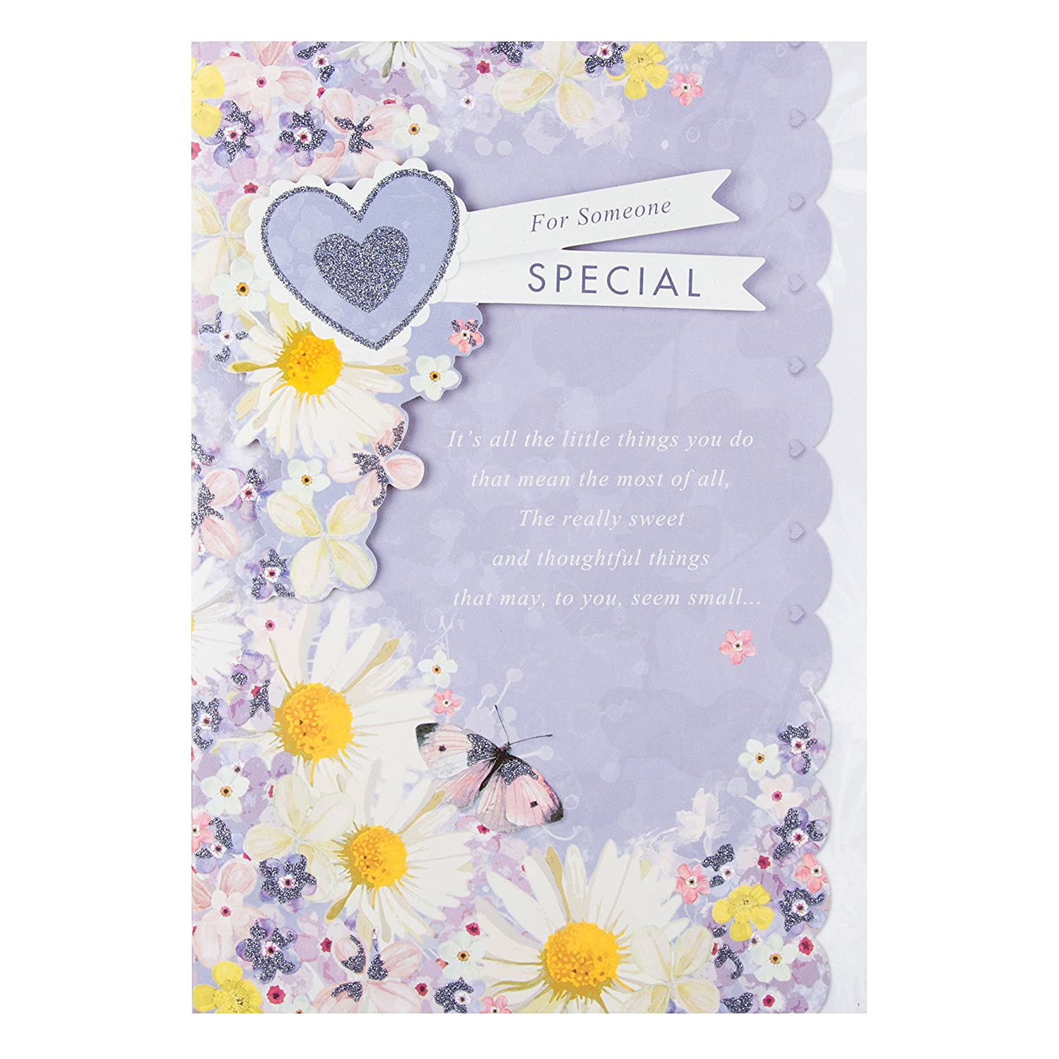 Hallmark Someone Special Birthday Card Little Things