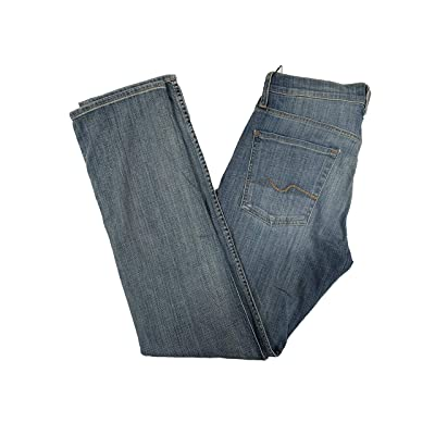 7 For All Mankind Men's Carsen Easy Straight Leg Jeans: Clothing