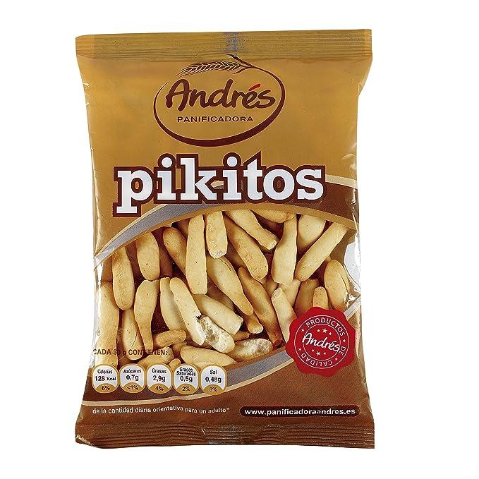 ANDRES pikitos de pan bolsa 140 gr: Amazon.es: Alimentación y bebidas