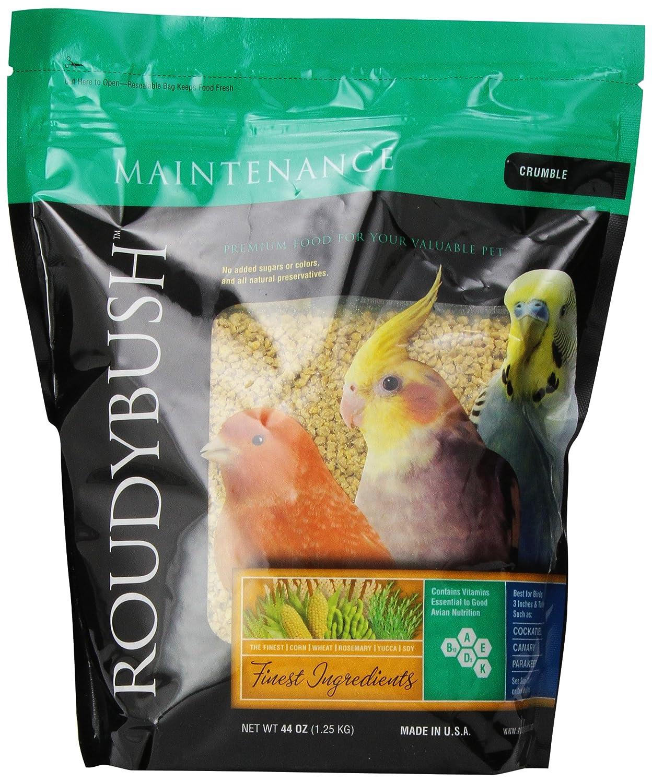 ROUDYBUSH manutenzione giornaliera mangime per uccelli, Crumbles, 1.247,4 gram