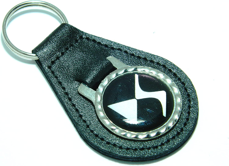 Auto Badges Citroen Ds Schlüsselanhänger Leder Schwarz Auto