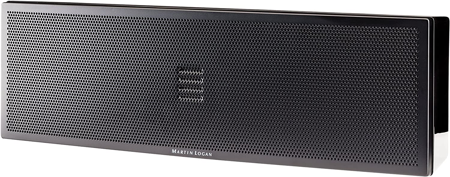 MartinLogan Motion 6i Center Channel Speaker, Single Speaker (Gloss Black)
