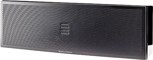 MartinLogan Motion 6i Center Channel Speaker, Single Speaker Gloss Black