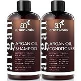 artnaturals Moroccan Argan Oil Shampoo and Conditioner Set - (2 x 12 Fl Oz / 355ml) - Sulfate Free - Volumizing & Moisturizin