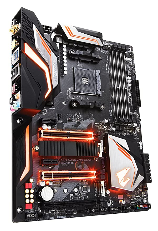 Gigabyte X470 AORUS Gaming 5 WiFi AMD X470 Zócalo AM4 ATX ...