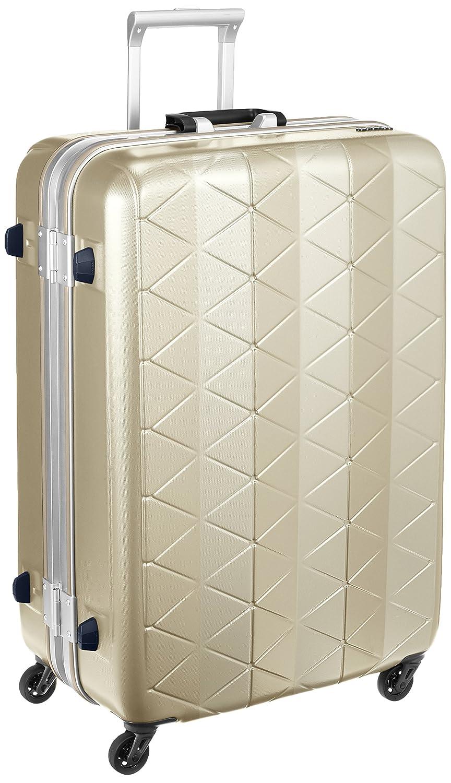 [サンコー] スーツケース フレーム SUPER LIGHTS MG-C 軽量 消音/静音キャスター MGC1-69 93L 69 cm 4.2kg B01GVMVYUA エンボスシャンパンゴールド