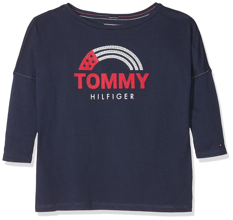 Tommy Hilfiger Camiseta para Niñas KG0KG03633