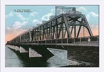 quebec Swinging bridge
