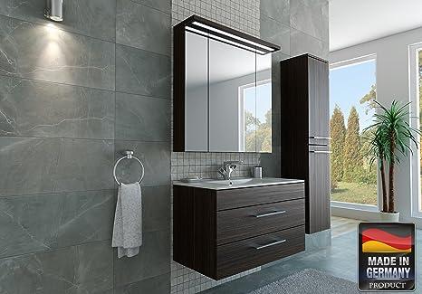 Mobile da bagno classico cm con ante lavabo in ceramica