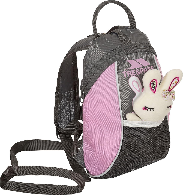 Trespass Tiddler Toddler Kids Safety Backpack Rucksack with Detatchable Reins