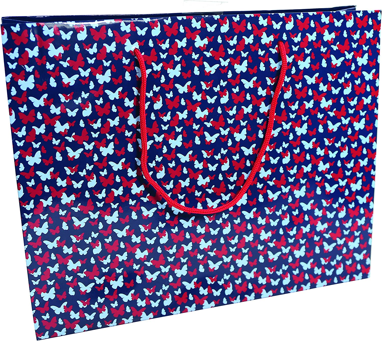 Clairefontaine 201742C Rose//Jaune Un sac shopping Excellia 35x10x27,5cm