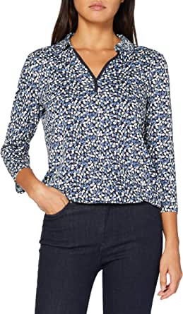 Tom Tailor Sommer-Muster Camiseta para Mujer