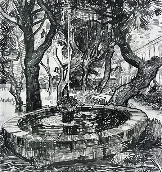 "Trees in the Garden of Saint-Paul 20/""x26/""  Canvas Art Print Vincent Van Gogh"