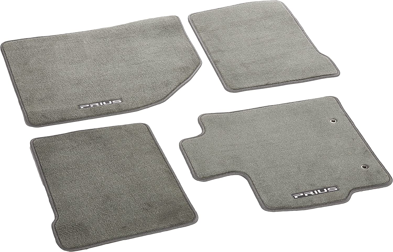 Carpet Floor Mat for Select Prius Models Genuine Toyota Accessories PT206-47100-40 black
