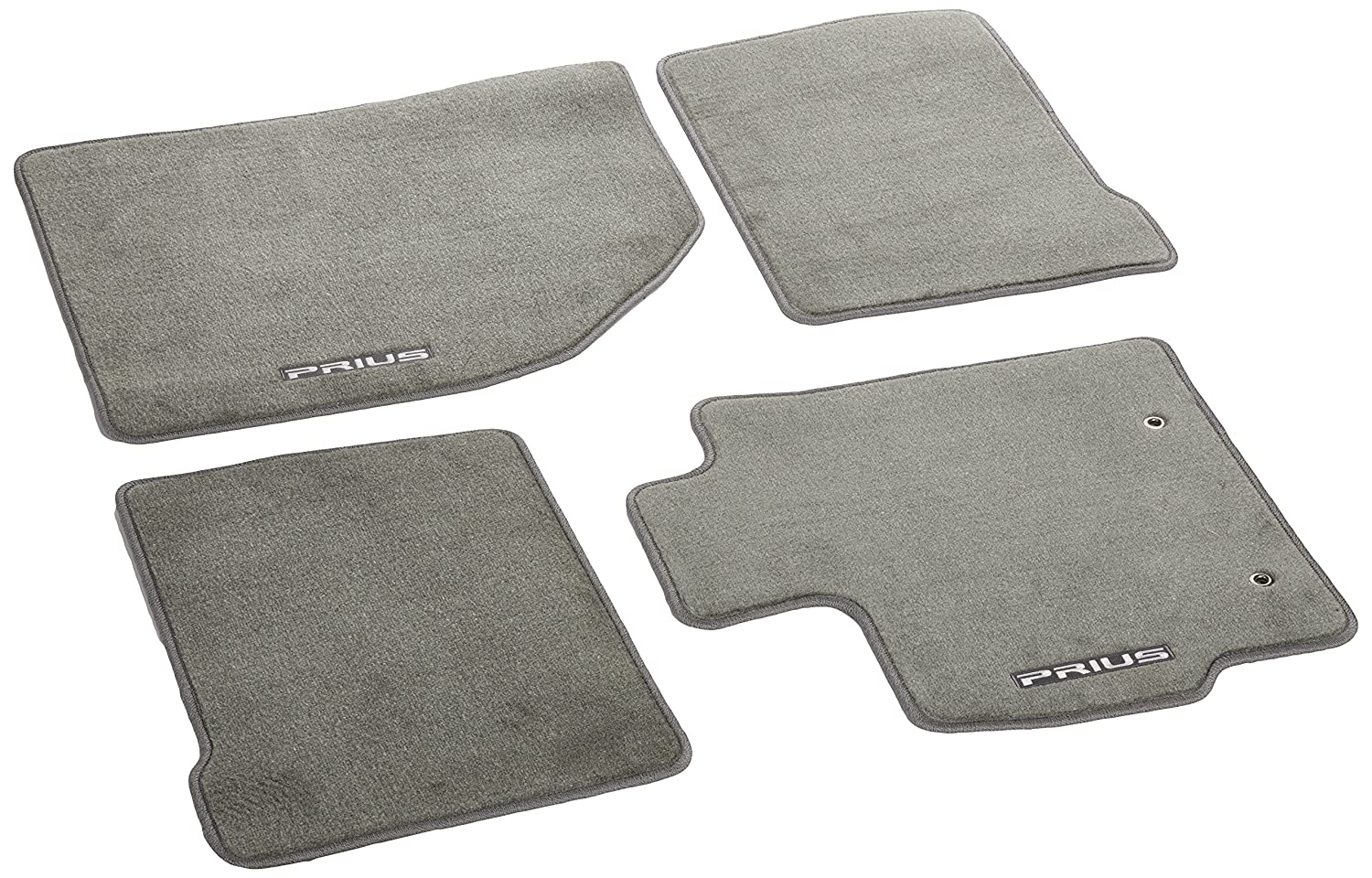 Genuine Toyota Accessories PT926-47101-11 Dark Gray Carpet Floor Mat for 2010-2011 Regular Prius Models Only